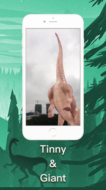 DinoCube AR - Dinosaurs Live! screenshot 5