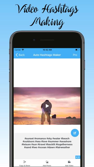 Auto Hashtag Maker Pro screenshot 8
