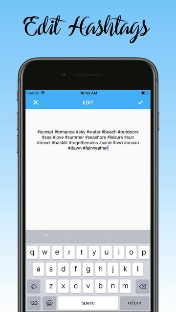 Auto Hashtag Maker Pro screenshot 9