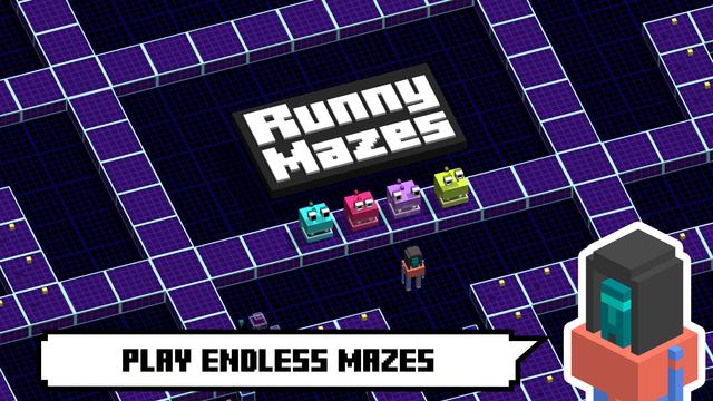 Runny Mazes - Arcade Runner screenshot 1