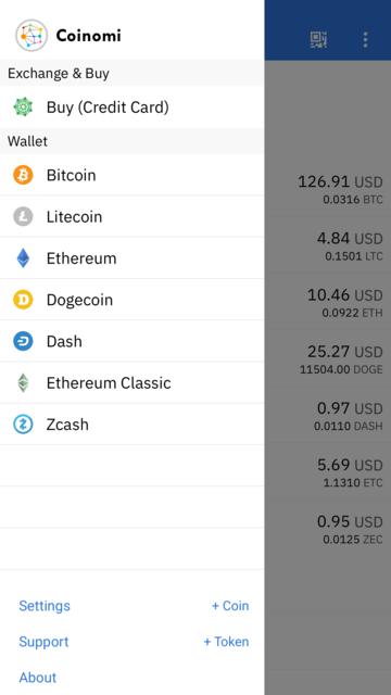 Coinomi Wallet screenshot 7