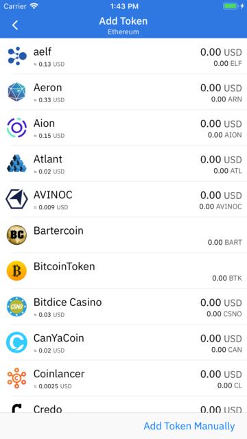 Coinomi Wallet screenshot 8
