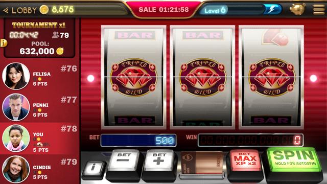 Slot Machine - Ruby Hall screenshot 1