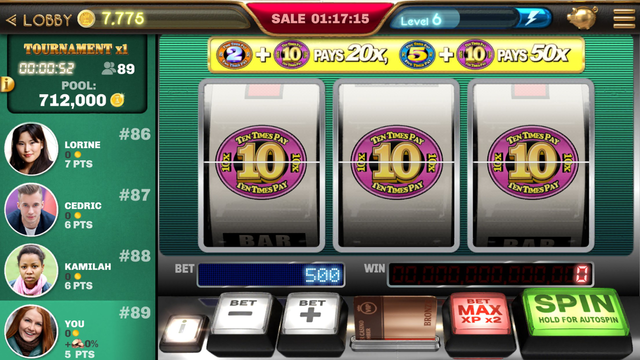 Times Pay Bonus Slots 2x5x10x screenshot 3