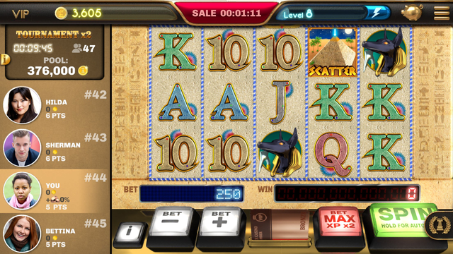 Epic Slots - Pharaoh's Wealth screenshot 3