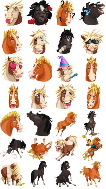 HorseMoji+ screenshot 5