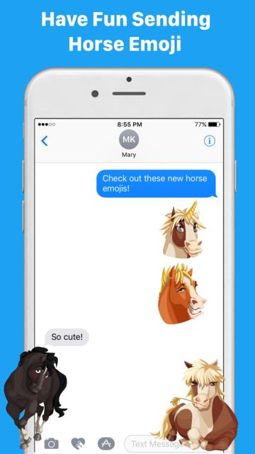HorseMoji+ screenshot 6