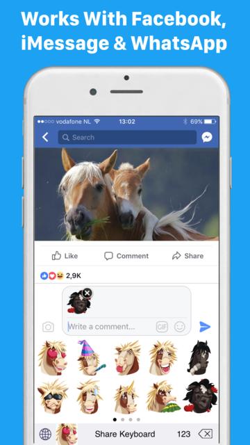 HorseMoji+ screenshot 7