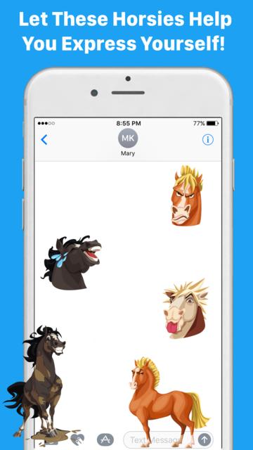 HorseMoji+ screenshot 8