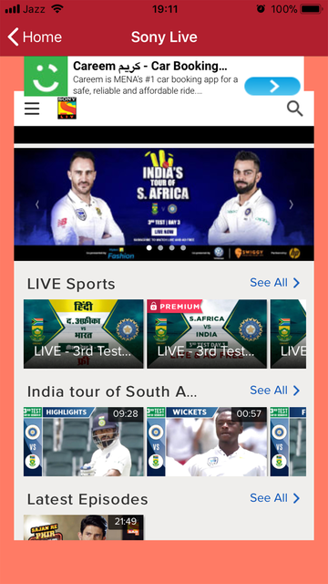 Sony TV Live Streaming screenshot 5