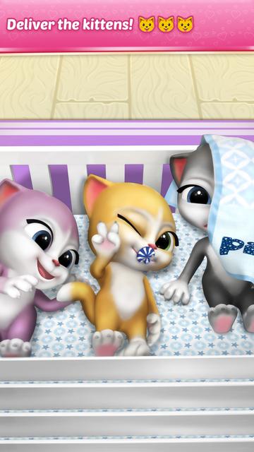 Pregnant Talking Cat Emma screenshot 7
