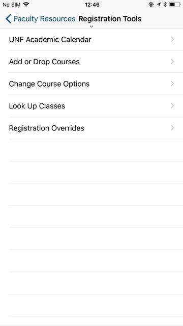 UNF Mobile (Official) screenshot 5