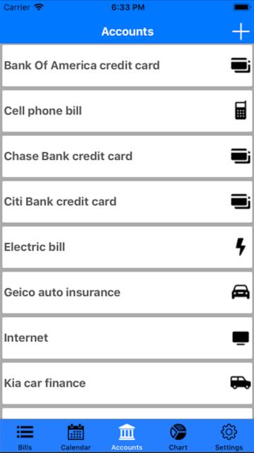 Bills Organizer & Reminder screenshot 6
