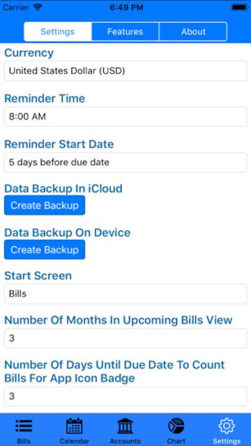 Bills Organizer & Reminder screenshot 7