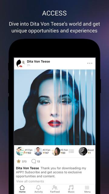 Dita Von Teese screenshot 2