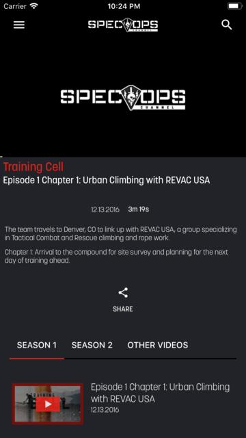 SPEC OPS Channel screenshot 3