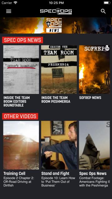 SPEC OPS Channel screenshot 5
