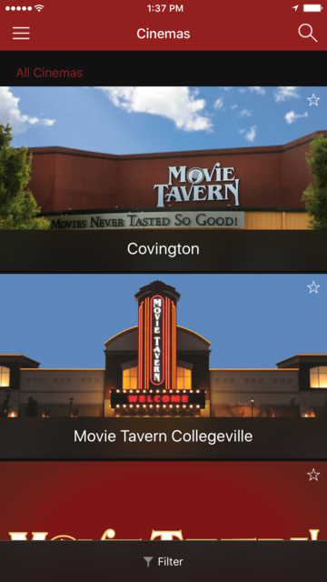 Movie Tavern screenshot 1
