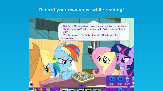My Little Pony Read & Play screenshot 2