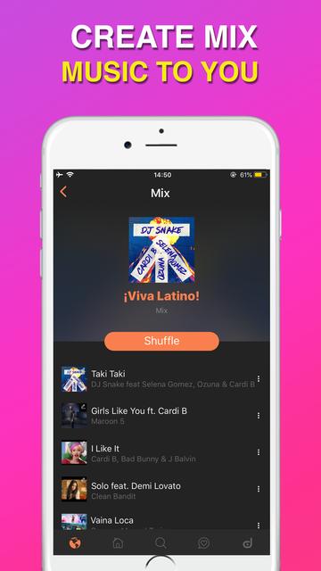DADO- Music Player, Music Tube screenshot 8