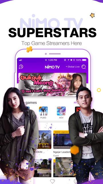 Nimo TV-Play. Live. Share. screenshot 10