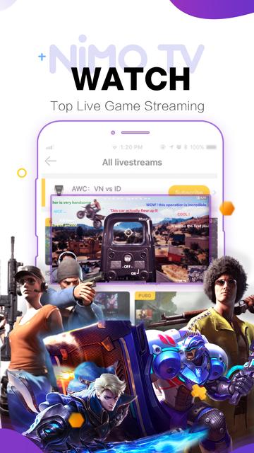 Nimo TV-Play. Live. Share. screenshot 5