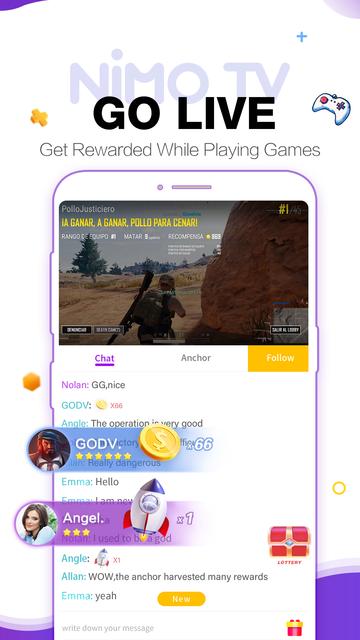 Nimo TV-Play. Live. Share. screenshot 4