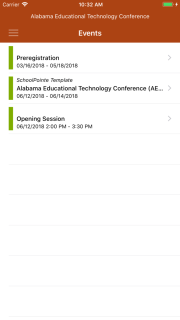Alabama Ed Tech Conference screenshot 3