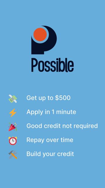 Possible: Loans & Cash Advance screenshot 9
