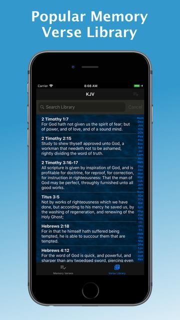 e-Sword MEM: Scripture Memory screenshot 1