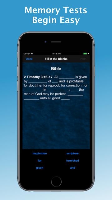 e-Sword MEM: Scripture Memory screenshot 3