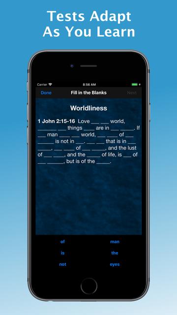 e-Sword MEM: Scripture Memory screenshot 4