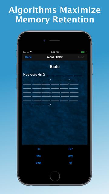 e-Sword MEM: Scripture Memory screenshot 5