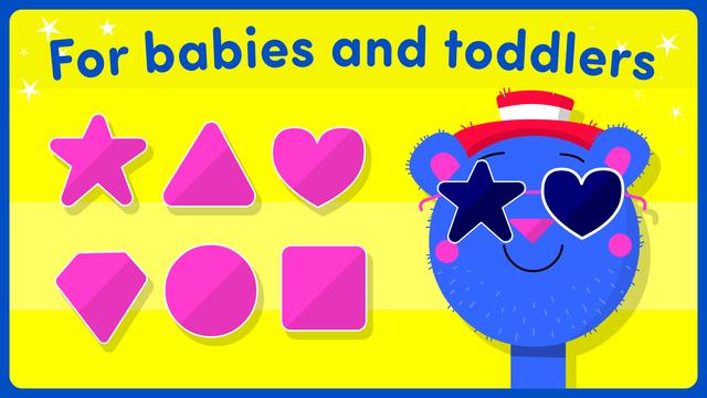 Shape games for kids toddlers screenshot 7