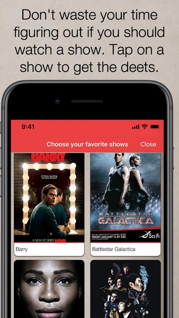 Binge Guide: TV Show Tracker screenshot 7