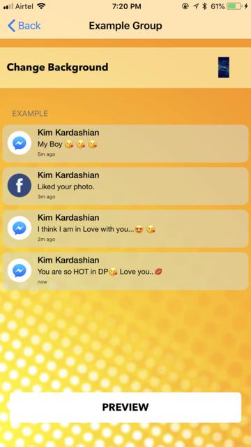 fake text notification message screenshot 6