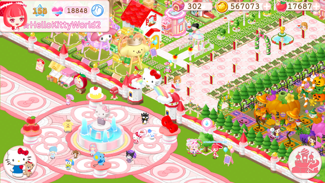 Hello Kitty World 2 screenshot 10