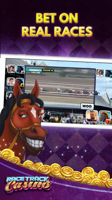 Racetrack Slots: Horse Casino screenshot 1
