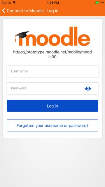 Moodle Classic screenshot 2