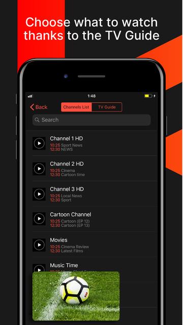 Streeme: IPTV Streaming screenshot 4