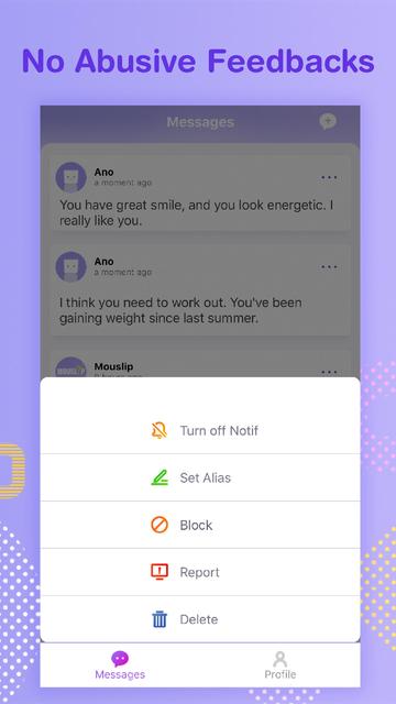 Mouslip - anonymous feedbacks screenshot 4