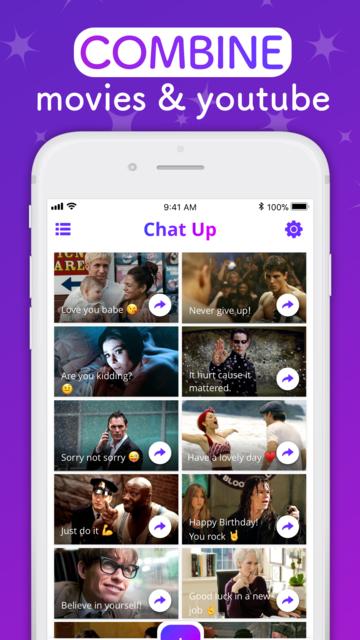 ChatUP - Text & emoji to video screenshot 7