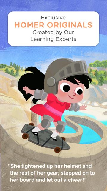 HOMER Stories: Kids Library screenshot 4