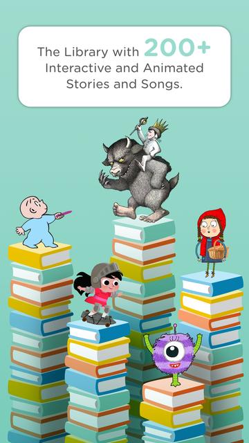 HOMER Stories: Kids Library screenshot 1