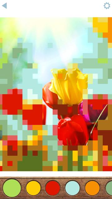 Coloring book Mosaic screenshot 1