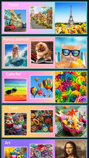Coloring book Mosaic screenshot 2