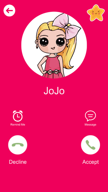 Call from Jojo - Calling Siwa screenshot 1