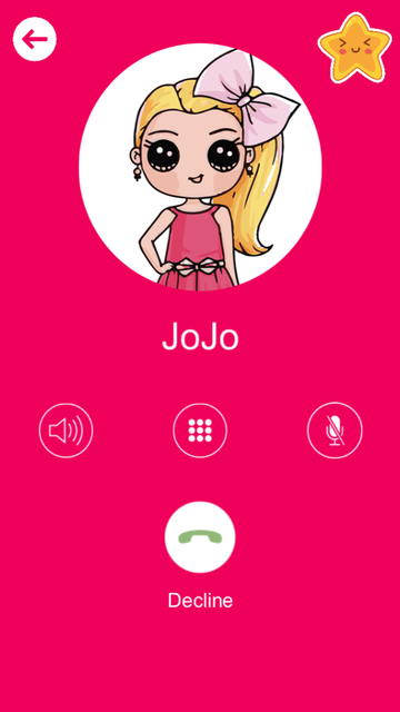 Call from Jojo - Calling Siwa screenshot 2