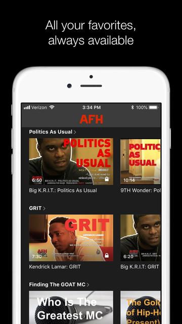 AFH TV screenshot 3