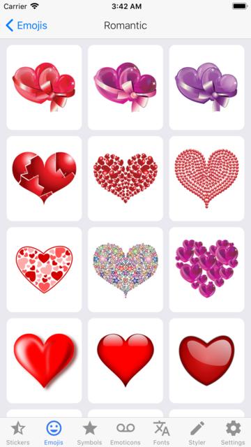 i2Symbol Emoji screenshot 9
